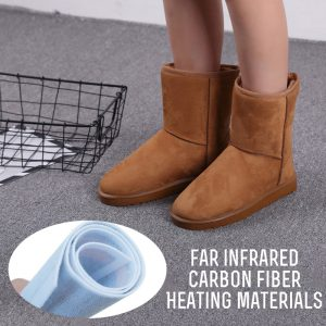 7.4V Electric Heating Shoes Snow Boots Warm Insoles For Women 113/45 For 3~4 Hours