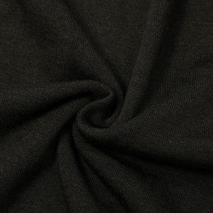 Men Round Neck Thermal Underwear Vest Waistcoat Warm Heat Holder Sleeveless Top Blouse Underclothes Black