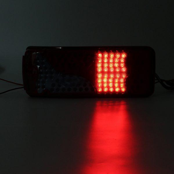 24V 120 LED Lorry Trailer Truck Rear Tail Lights Lamp For MAN DAF TGX SCANIA