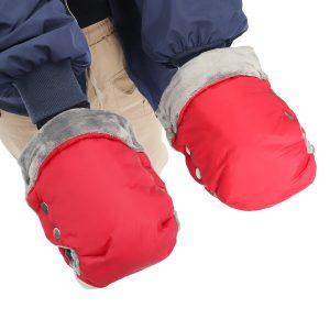 Waterproof Winter Stroller Warm Gloves Pushchair Hand Muff Mitten Pram Accessory