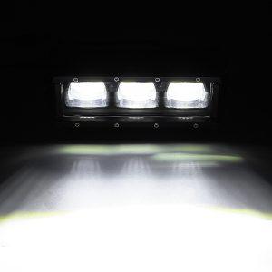 9 Inch 30W LED Work Light Bars 9D Lens Single Row 6000K 9-32V For Off Road 4WD Trucks SUV ATV Trailer Motorcycle