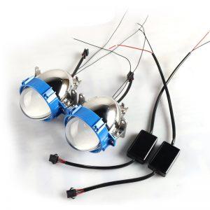 35W 5500k 2.5inch Auto Bi LED Projector Lens Headlights H4 H7 9005 9006 Car Motorcycle Headlight Retrofit Kits