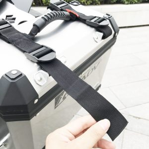 Alloy Side Box Saddlebags Pannier Handle Rope For BMW R1200GS ADV F700GS F800GS Motorcycle
