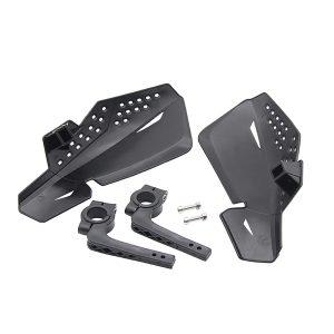 22mm 7/8 Inch Motorcycle Handguard Hand Guards Protectors Universal For Honda Black