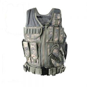 Outdoor CS Camouflage Vest Adventure Multifunctional Waistcoat Tactical Jacket
