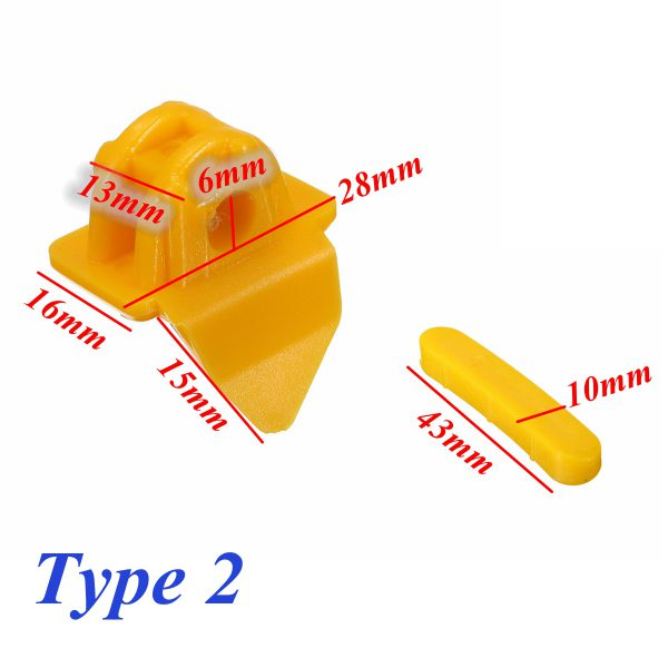 12 Pcs Tyre Tire Nylon Mount Demount Head Insert Rim Protector Machine