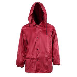 Waterproof Lightweight Rain Jacket Outdoor Hooded Raincoat Rain Cape Coat Cover Raincover