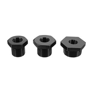 3pc Automotive Oil Filter Threaded Adapter 1/2-28 to 3/4-16 13/16-16 3/4 NPT