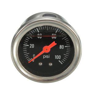 AN6 Adjustable Fuel Pressure PSI Regulator Oil Gauge Hose Fitting Kit Universal