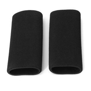 Motorcycle Foam Handlebar Grip Slip-on Anti Vibration Comfort Cover Black