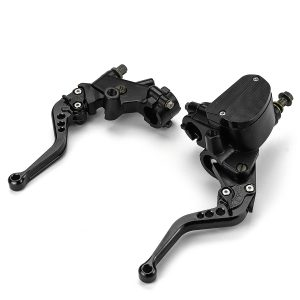 22MM 500cc-800CC 16mm Universal CNC Motorcycle Brake Clutch Master Cylinder Levers Bar Clamp