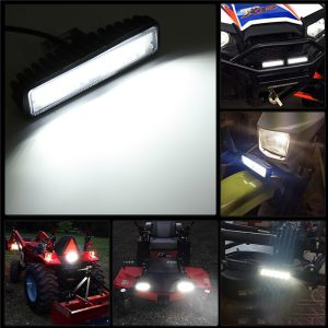 6 inch 12V 48W LED WORK LIGHT BAR Spot Lamp For OFF-ROAD 4WD SUV ATV CAR LAMPS B