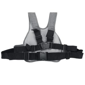 Kid Child Safety Seat Belt Harness Reflective Buckle Strap For Motorcycle Electric Scooter