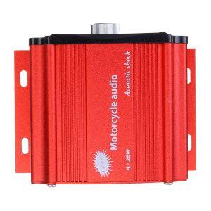 12V Motorcycle ATV UTV bluetooth Player Audio Remote Sound System Support SD USB MP3 FM Radio with Equalizer