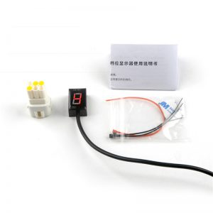 Motorcycle LED Red/Blue/Green 1-6 Gear Display Suitable For Suzuki