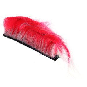 DIY Helmet Mohawk Hair Punk Hair Colorful Modeling Wig For Motorcycle