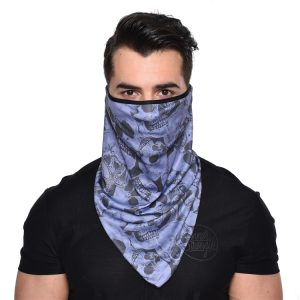 3D Quick Dry Breathable Riding Face Mask Windproof Sunproof Outdoor Multifunction Triangle Scarf