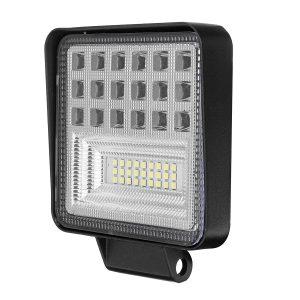 126W LED Work Light Bar Flood Spot Lights Driving Lamp Offroad Motorcycle Car Truck SUV