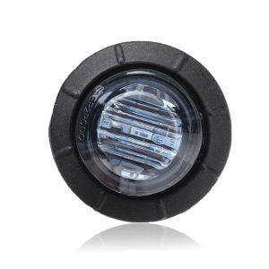 8Pcs Red Light 12V-24V LED Clearance Side Marker Indicators Lights Lamp Lorry Truck Boat Trailer Bus