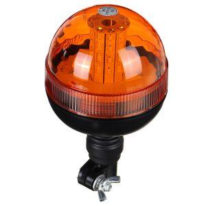LED Rotating Flashing Amber Beacon Boat Truck Tractor Warning Light DC12-24V IP65
