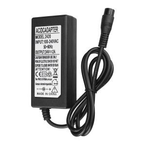 24V 2A Electric Scooter Battery Charger Fr RAZOR E100 E200 E300 E125 E150 E500
