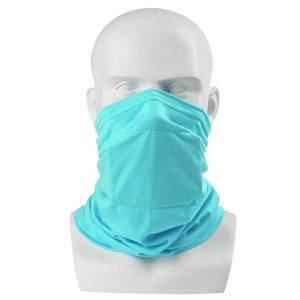 Kid Child Face Mask Tube Scarf Bandana With Filter Bag Head Multi-use Motorcycle Bike Riding Neck Gaiter Outdoor