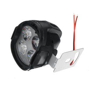 12V 15W 4LED 1000LM Super Bright Motorcycle Headlight Bulb Work Fog Driving Spot Night Headlamp For UTV ATV Truck Car