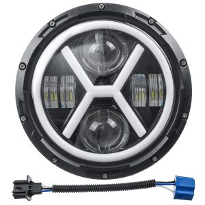 """7inch Waterproof Motorcycle Headlight Round LED Projector"""""""