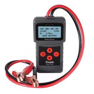 Enusic Micro-200 Pro 12V Car Motorcycle Battery Tester SAE CCA JIS Digital Battery Analyzer Micro-200Pro
