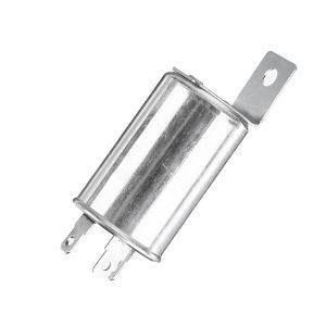 12V Flasher Unit Relay Indicators Light Turn Signal 502096 Silver