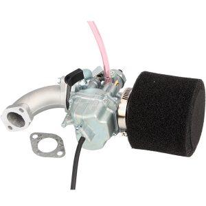 125cc 140cc VM22 PZ26mm Carburetor With Air Filter Intake Pipe Kit For Mikuni Pit Dirt Bike Lifan SSR KLX