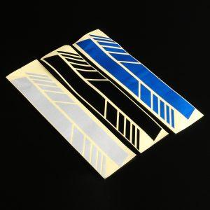 2Pcs Vinyl Racing Stripe Rearview Mirror Car Sticker Decal For Mercedes-Benz