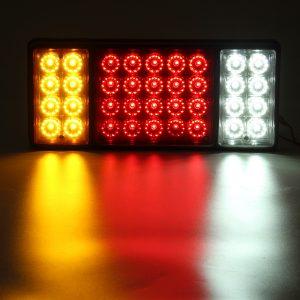 2 Pair 36 LED Rear Tail Light Brake Reverse Stop Indicator Lamp Truck Ute Boat Trailer