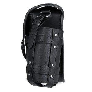 4pcs Motorcycle Left/Right Saddlebag Tool Bag Fuel Oil Bottle Holder Hasp Type