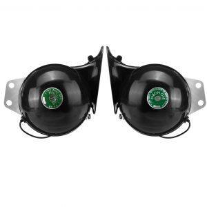 2pcs 12V 350dB Electric Bull Horn Metal Super Loud Raging Sound Waterproof For Car Truck Motorcycle Boat