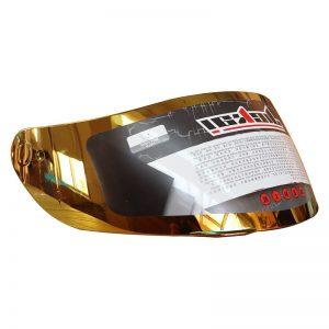 JIEKAI GXT 902 Model Motorcycle Helmet Glass Shield Gold Color Available For K3SV K5 Helmet