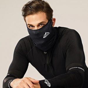Unisex Cycling Half Face Mask Balaclava Ice Silk Motorcycle Bike Neck Scarf