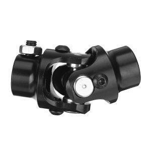 """3/4 Round Smooth X 3/4-36 Spline BLACK Universal Steering Shaft U Joint Column"""""""