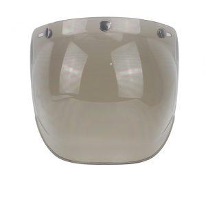 CYCYLEGEAR Bubble Shield Helmet Lens For Half Retro Flying Helmet Tri-buckle Lens With Transparent Frame