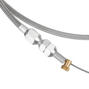 36 Stainless Steel Throttle Cable Replacement for LS LS1 Engine 4.8 5.3 5.7 6.0″
