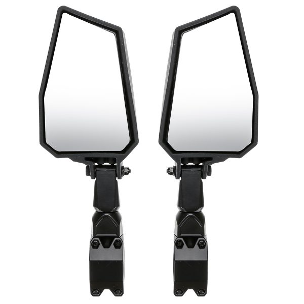 Side Wide Rearview Mirrors 1.75 Inch UTV Off-Road Mountain Bike Motorcycle For Polairs RZR 1000 XP 900 XP1000 Adjustable