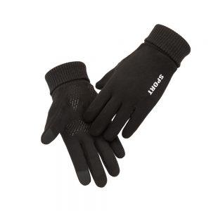 Men Women Winter Gloves Warm Touch Screen Non-Slip Cycling Driving Gloves