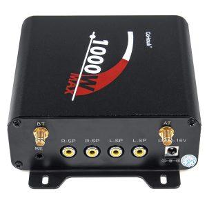 1000W Motorcycle bluetooth 4 Speakers Audio Stereo System MP3 ATV UTV Waterproof