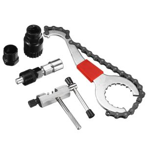 5 in 1 Mountain Bike Bicycle Crank Chain Axis Extractor Removal Repair Tools Set