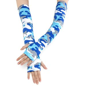2pcs Cooling Arm Sleeves Cover Riding Basketball Golf Sport UV Sun Protection Unisex