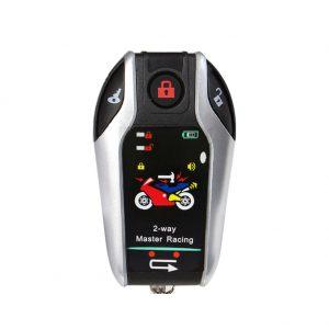 2 Way Alarm Anti-theft Device Vibration Sound Prompt PKE Automatically Unlocks Automatical Locks With Microwave Sensor Universal Motorcycle