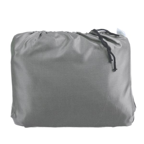 Waterproof Motorcycle Cover Outdoor 6/8 Seater Square Tablecloth Home Picnic Table Dustproof Gray