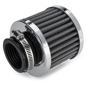 0.75L AN10 Aluminum Baffled Motor Engine Oil Catch Can With Air Filter System