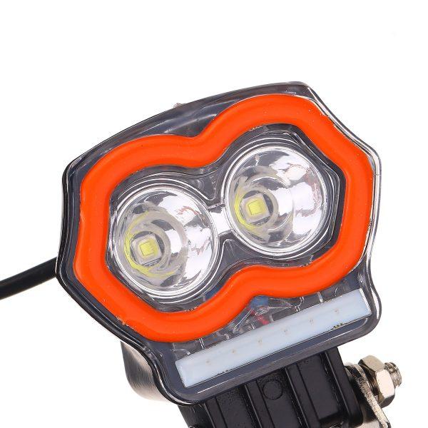 3 INCH LED Work Light Spot Lamp Fog Pods Blue DRL Off Road Car Motorcycle