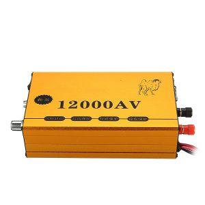 12000V AC Ultrasonic Inverter Electro Fisher Shocker Fish Stunner Booster Marine Electronic Transformer